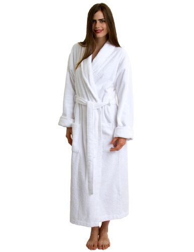 Turkish Cotton Bathrobe Terry Robe for Women and Men