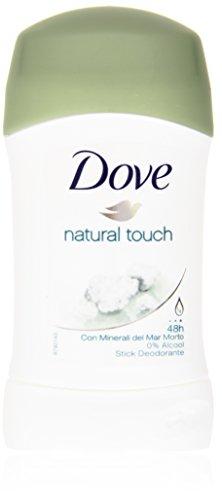 Dove - natural touch, Deodorante con Minerali del Mar Morto - 30 ml