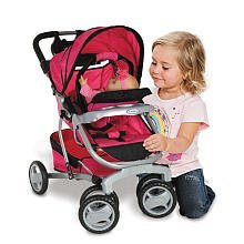 The Graco Doll Stroller With A Car Seat Is The Perfect