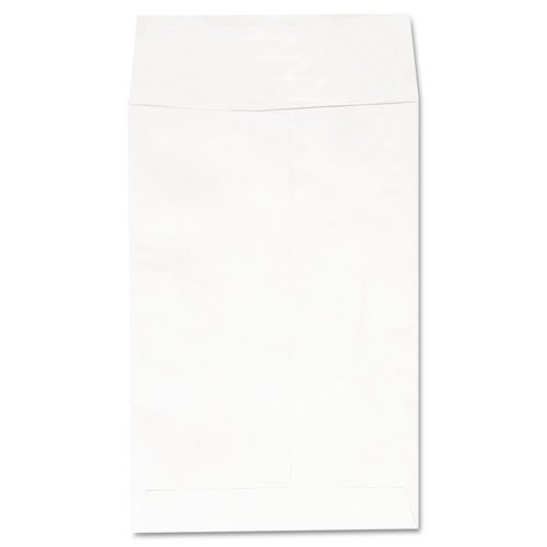 Universal Products - Universal - Tyvek Envelope, 6 x 9, White, 100/Box - Sold As 1 Box - Sturdy DuPont Tyvek material resists moisture, punctures and tears. - This lightweight envelope reduces shipping costs. - Clean, professional image.