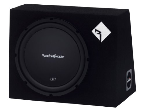 Rockford Fosgate Prime R1L-1X12 Single R1 12-Inch Pre-Loaded Enclosure