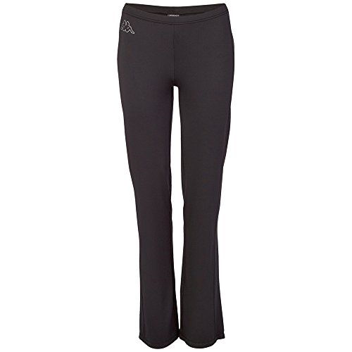 Kappa, Pantaloni Donna Pamela Pants Ladies, Nero (Black), S