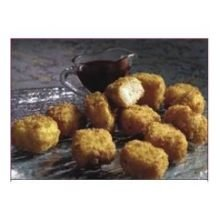 Love and Quiches Crunchy Fried Cheesecake Bites, 0.56 Pound -- 288 per case.