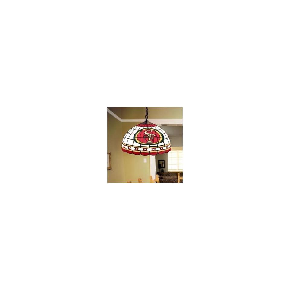 San Francisco 49ers Memory Company Tiffany Ceiling Lamp NFL Football Fan Shop Sports Team Merchandise