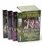 J.R.R. Tolkien Original 4-Book Boxed Set From 2001: The Hobbit, The Fellowship of the Ring, The Two Towers, The Return of the King (When FellowShip Of The Ring First Came Out) (The Lord Of The Rings)