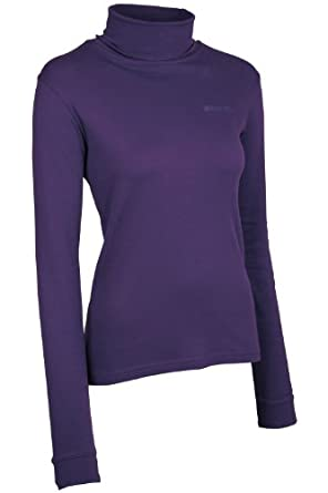 Buy Mountain Warehouse Meribel Ladies Cotton Roll Neck Top by Mountain Warehouse