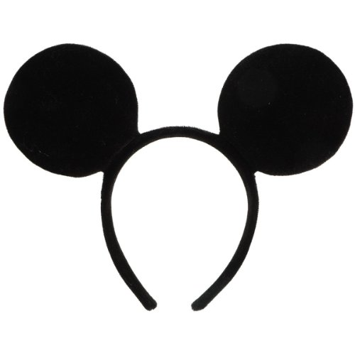 Disney Mickey Mouse Halloween / Regular Costume Ears Headband