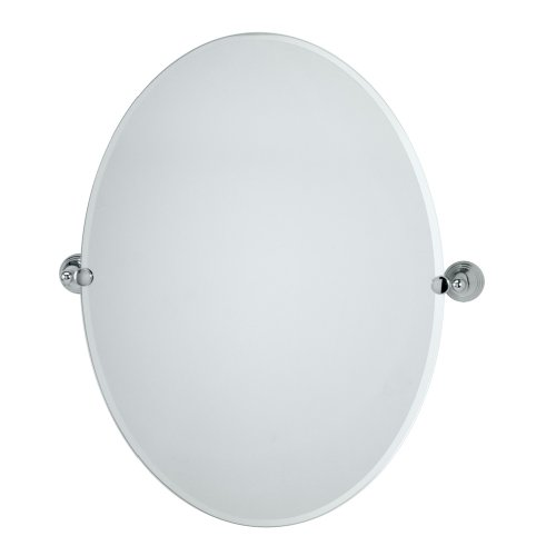 Gatco 4359Lg Charlotte Large Oval Wall Mirror, Chrome front-979337