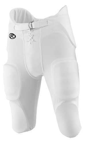 Rawlings Men's F3500P Football Pant (White, Large) (American Football Pants compare prices)