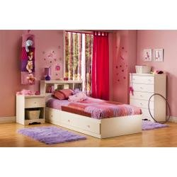 Cheap Kids Bedroom Furniture Set in Pure White – South Shore Furniture – 3550-BSET-1 (3550-BSET-1)