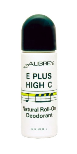 Aubrey Organics: E Plus High C Roll-On Deodorant, 3 Oz (3 Pack)