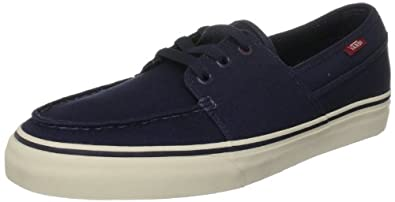 Vans Men's Hull Navy/Antique White Trainer VL3O5TK 8 UK