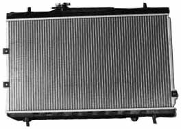 tyc-2784-kia-spectra-1-row-plastic-aluminum-replacement-radiator