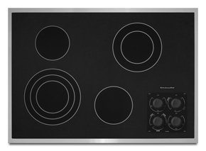 Kitchenaid Kecc506Rss 30 Electric Cooktop - Stainless Steel
