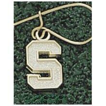 Anderson Jewelry Michigan State Spartans Post Gold Earrings