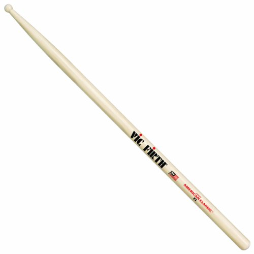 Vic firth - baguettes american classic hickory - f1 fusion - quinzaine