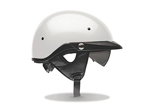 Bell Pit Boss Open-Face Adult DOT Certified Helmet, Solid Pearl White, 3XL/XXXL (Open Face Motorcycle Helmet Xxxl compare prices)