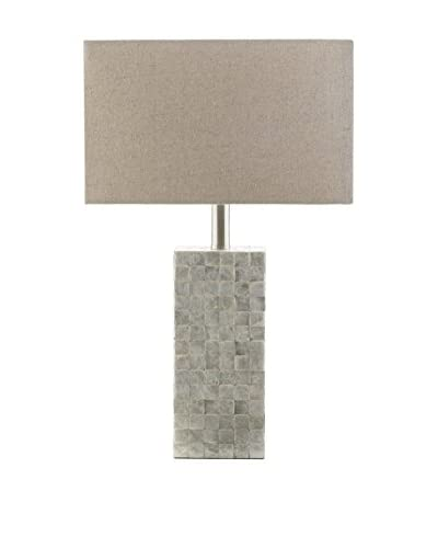Surya Landon 1-Light Floor Lamp, Cream