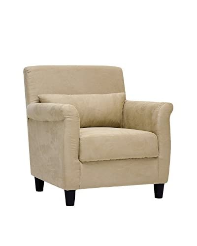 Baxton Studio Marquis Club Chair, Tan