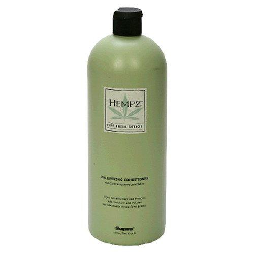 Buy Hempz Pure Herbal Extracts Volumizing Conditioner, 33.8 fl oz (1 l) (Hempz Hair Conditioners, Conditioners, Extra Body)