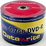 Datawrite Red DVD-R 120 min/4.7 GB 16x, 50-pack shrink-wrapped