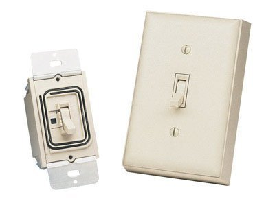 Heath Zenith Bl-6133-La Basic Solutions Wireless Switch And Wall Switch, Light Almond