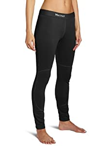 Marmot Women's Midweight Bottom Tights, Black, Small