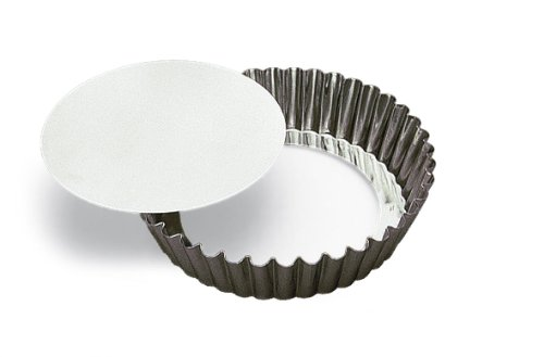 SCI Scandicrafts Fluted Deep Tart/Quiche Mold, Removable Bottom 10-inch Diameter by 2-inch Deep (Deep Dish Tart Pan compare prices)