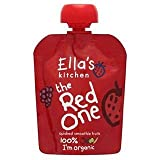 Ella's Kitchen Organic Smoothie Fruits The Red One Single90g