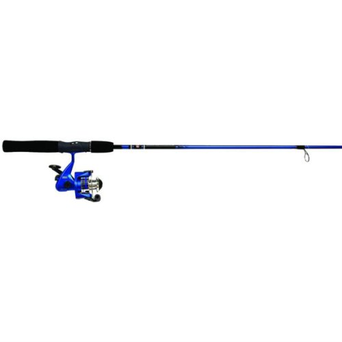 Zebco Slingshot 202/562M Spin Fishing Rod and Reel Combo, Colors May Vary (Zebco 202 Spincast Combo compare prices)