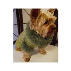 Risotto Spearmint Aspen Dog Sweater (Large)
