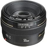 Canon EF 50mm f/1.4 USM Standard & Medium Telephoto Lens for Canon SLR Cameras