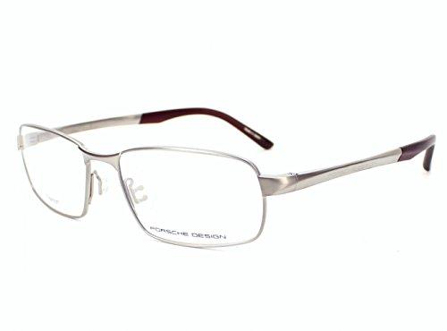 Porsche Design P8212 EyeGlasses 8212 Men frame Antique Titanium, Matte Dark Red 56mm
