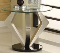 Cheap 21″H Niki Contemporary Chrome End Table (AC-80002)