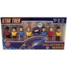 Pez Star Trek Limited Edition Numbered Collector Set Candy, 3.48 Ounce -- 6 per case. (Numbered Candy compare prices)