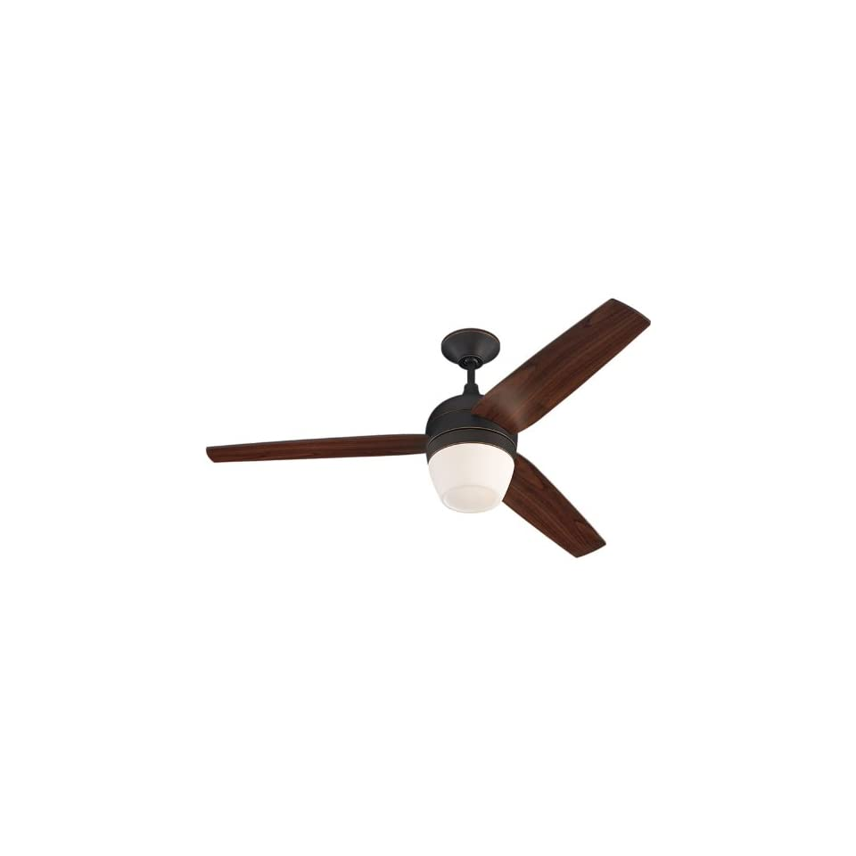 52 Monte Carlo Merlot Roman Ceiling Fan with Light Kit