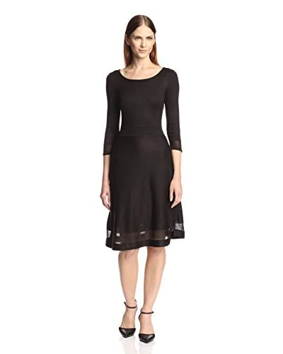 Marc New York Women's Fit-and-Flare Sweater Dress