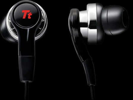 Thermaltake Ht-Isu0005Ebbl Tt Esports Isurus Gaming Earphones Headset With Voice Capability Pre