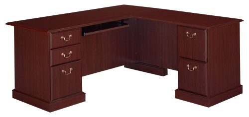 Bush Furniture Saratoga Executive L- Desk