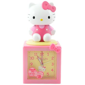 Hello Kitty Alarm Clock: Bobble Head