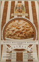 Bakery on Main Instant Oatmeal, Maple Multigrain Muffin, 10.5 Ounce