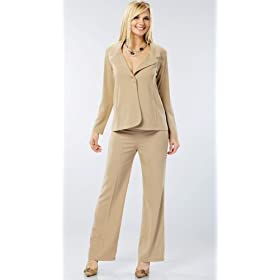 The Olian Crepe Suit