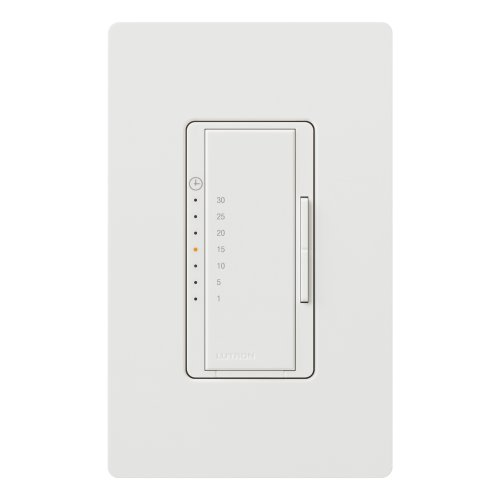 Lutron MA-T530GHW-WH Maestro Eco-timer, White