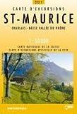 echange, troc Cartes Office Fédéral de Topographie Suisse - Carte de randonnée : Saint-Maurice pédestre
