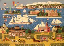 "Anthony Kleem ""Harbor of Hope"" Puzzle 550 Pieces - 1"