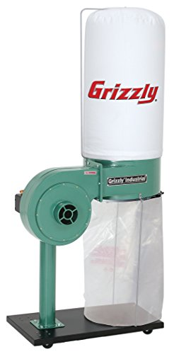 Review Of Grizzly G8027 1 HP Dust Collector