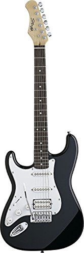 Stagg S402Lh-Bk Fat S Electric Guitar Left Hand Black