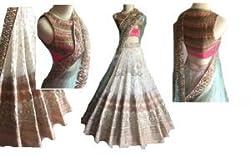 Rozdeal Stylish Multi Color Designer Lehenga Choli