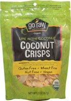 Go Raw Coconut Crisps Gluten Free Lime In The Coconut -- 2 Oz