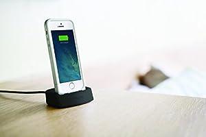 mophie juice pack Desktop Dock for iPhone 5/5s - Black